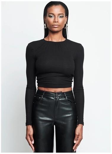 Iamnotbasic IAMNOTBASIC Kadın Siyah Vicky Üst Siyah